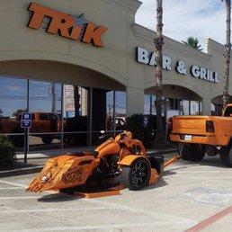 Photos For Trik Bar Grill Yelp - Texas metal car show