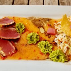 Photo Of The Patio Seafood Tavern   Vero Beach, FL, United States. Ahi