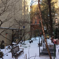 Photo Of Creative Little Garden New York Ny United States Snow Filled