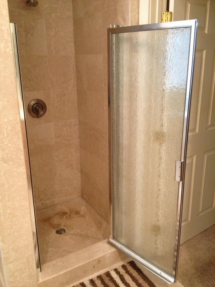Replacement of a single shower door. | Yelp