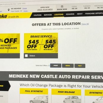 Meineke Oil Change >> Meineke Car Care Center 11 Photos Tires 120 N Dupont Hwy New