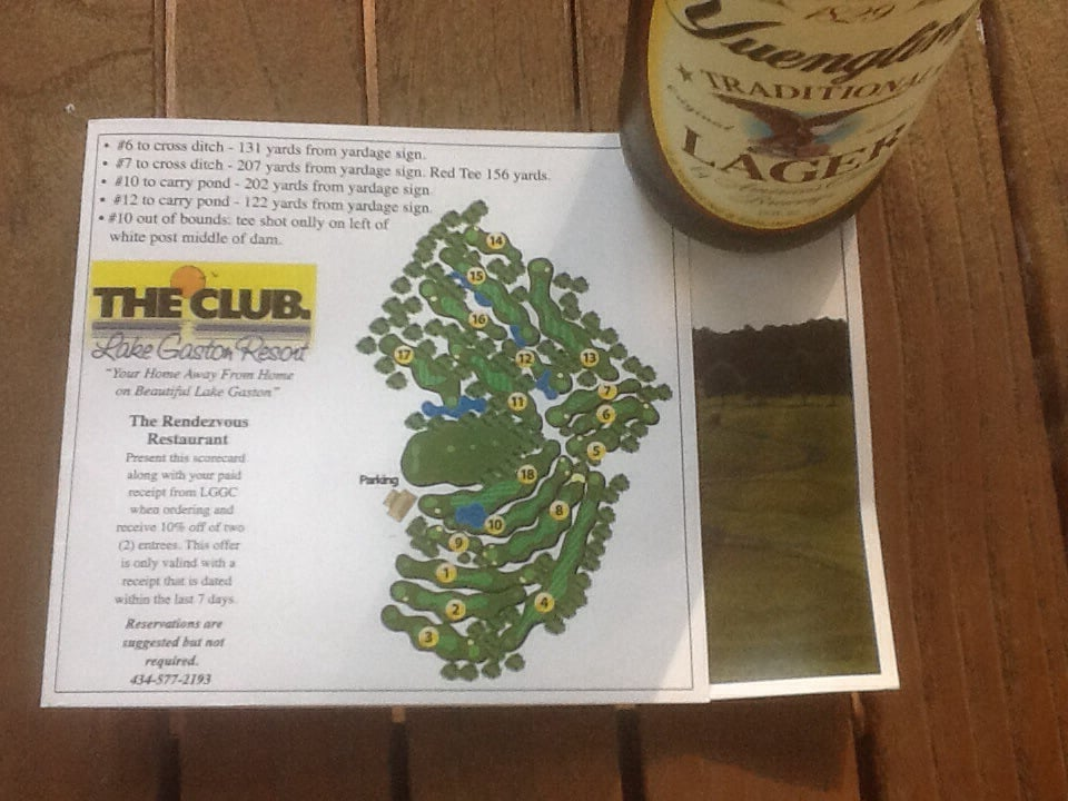 Lake Gaston Golf Club: 890 Baird Rd, Gasburg, VA