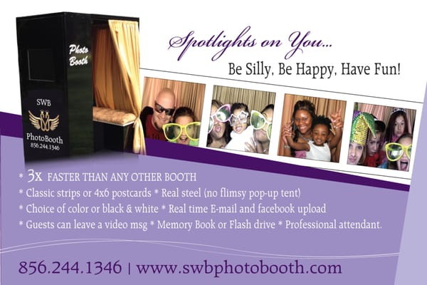 SWB Photo Booth - Party Equipment Rentals - 517 Spruce St