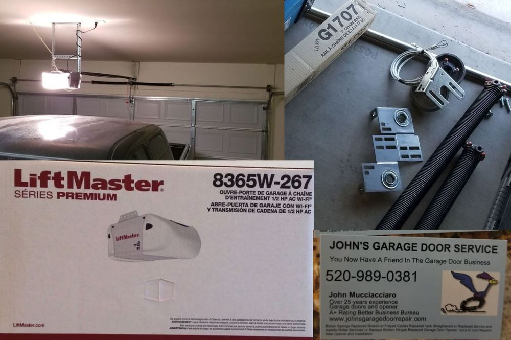 High Quality Full Replacement Of Garage Door Opener System Yelp