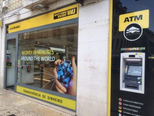 Western union bureau de change centro comercial colombo carnide