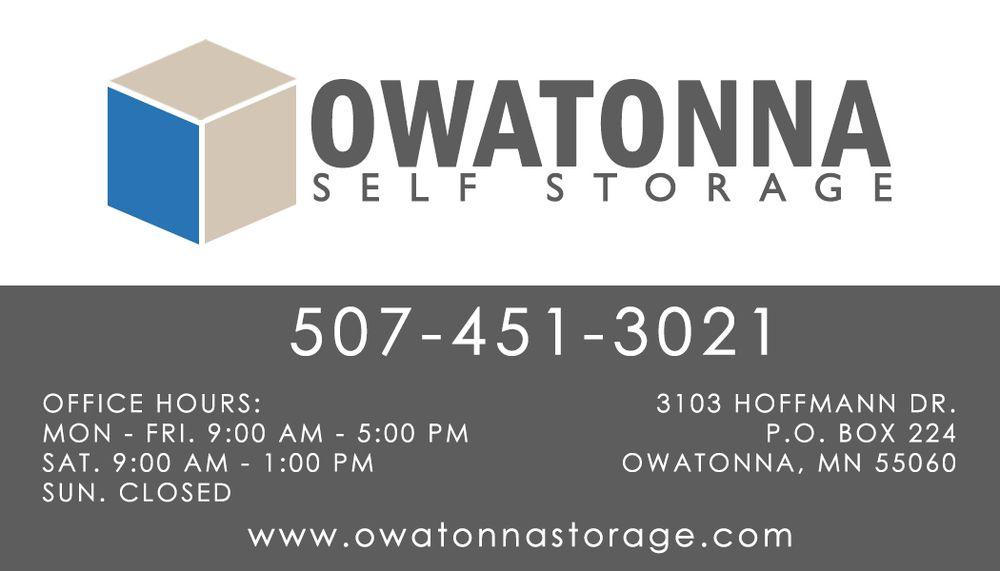 Merveilleux Owatonna Self Storage   Get Quote   Self Storage   3103 Hoffman Dr NW,  Owatonna, MN   Phone Number   Yelp