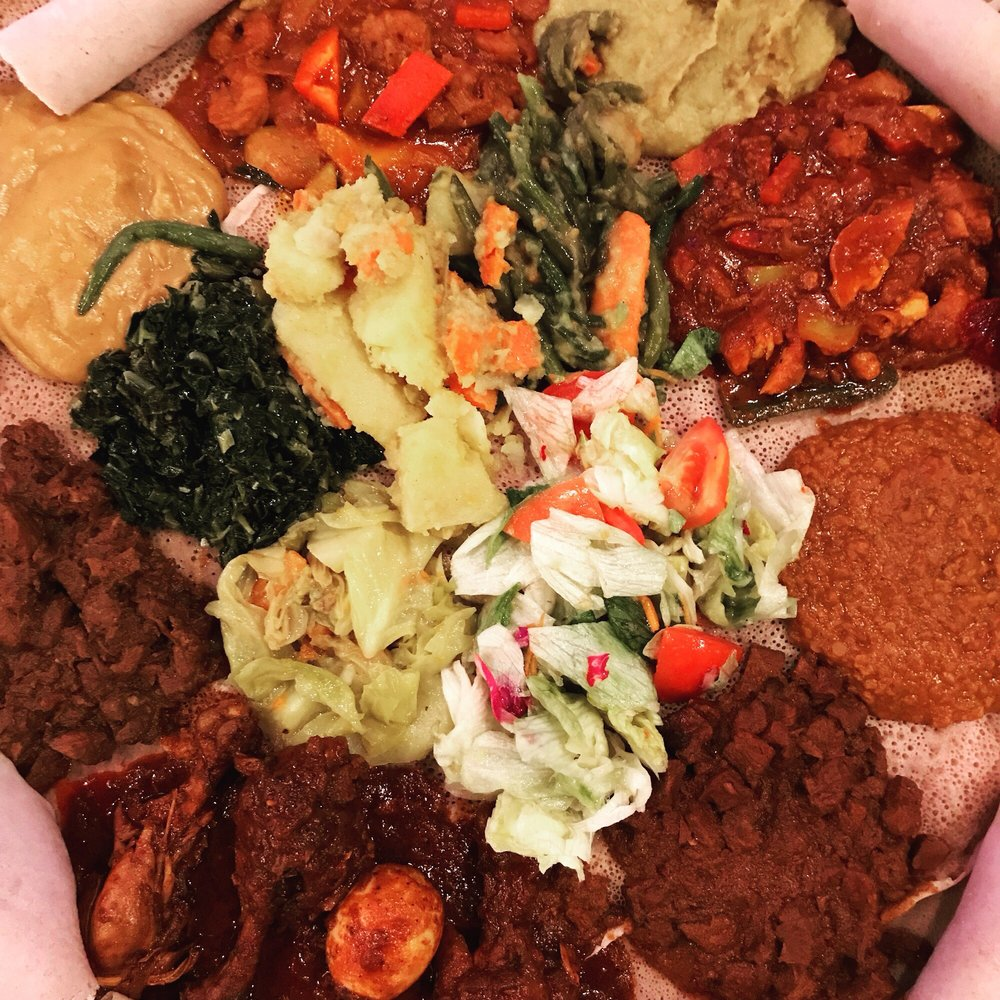 St Yared Ethiopian Restaurant: 11210 Fall Creek Rd, Indianapolis, IN