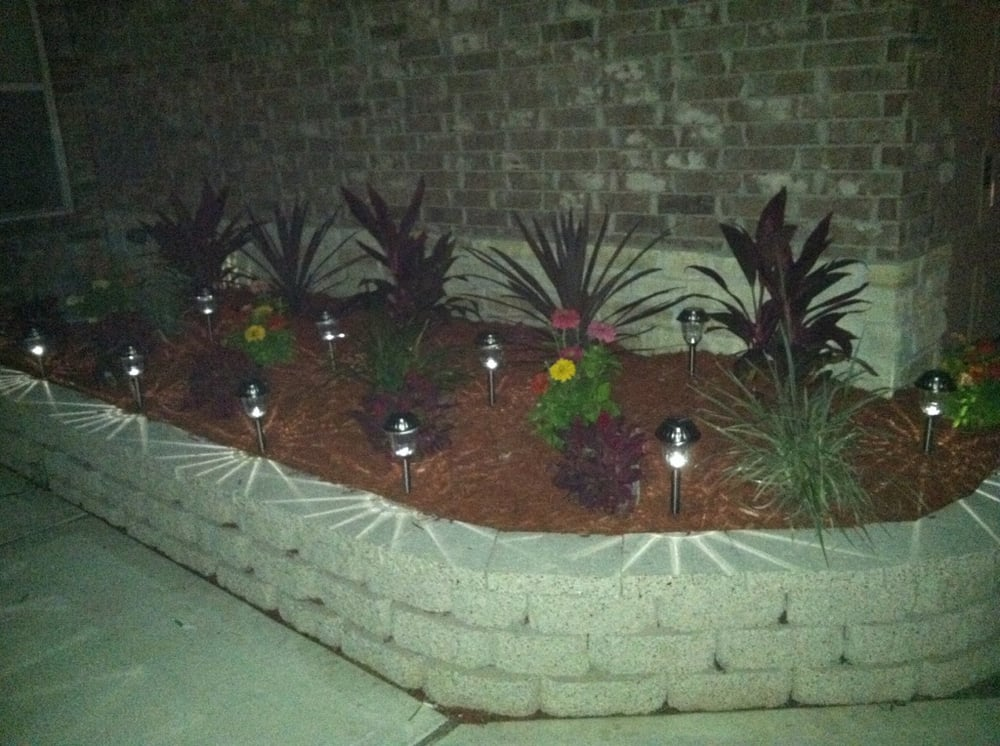 Houston Tx United States Brick Retaining Wall With
