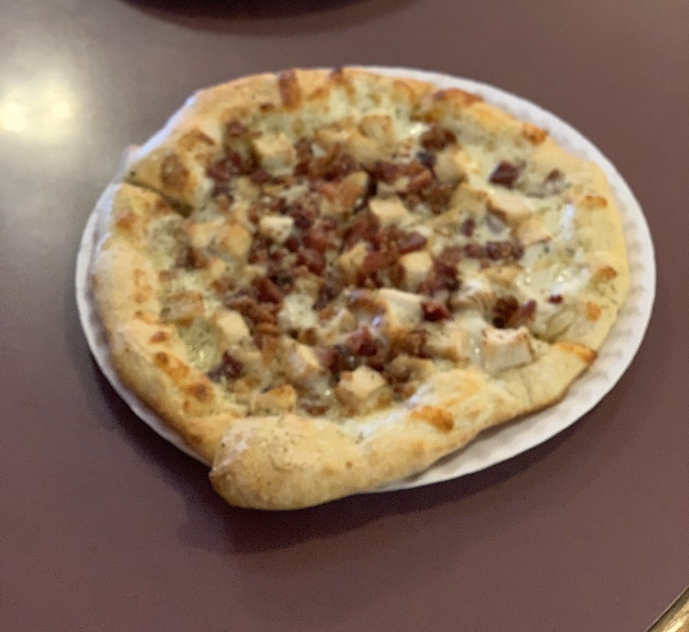 Food from Downtown Pizza Pub