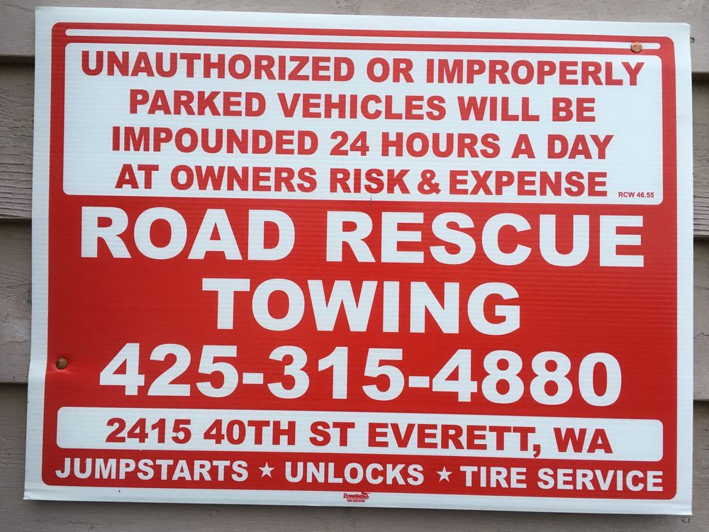 Road Rescue Towing: 2415 40th St, Everett, WA