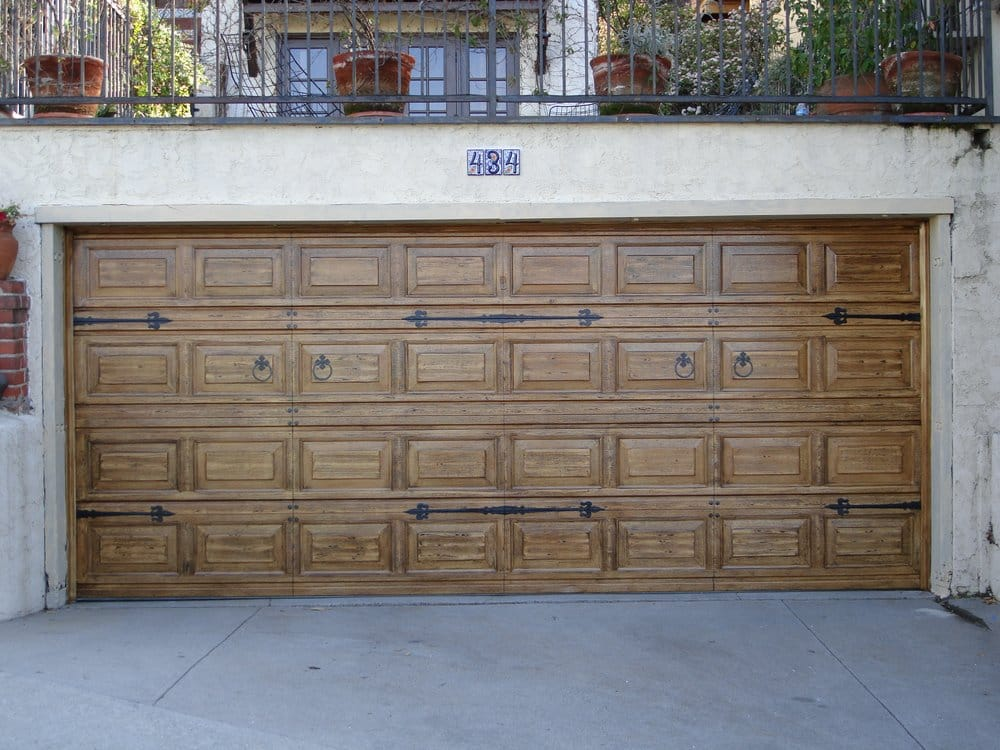 Faux wood garage door yelp Garage door faux wood