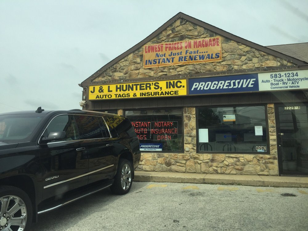 Hunter\'s Auto Tags - Registration Services - 2229 Macdade Blvd ...