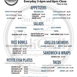 Surf city fish grill order online 173 photos 106 for City fish menu