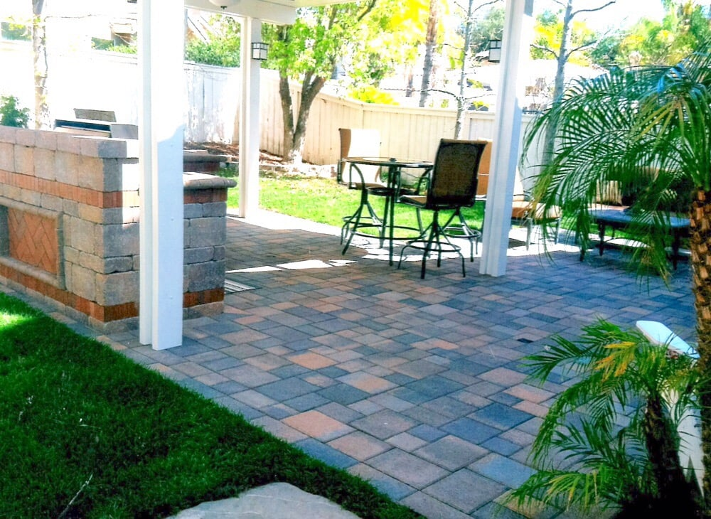 Photo Of Pavers U0026 Patio Covers   Fullerton, CA, United States. Alumawood  Solid