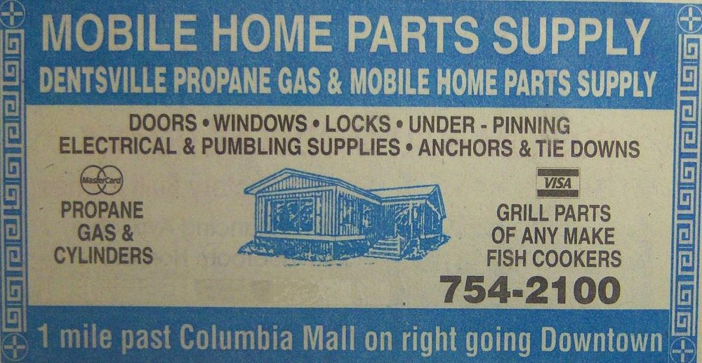 DENTSVILLE PROPANE GAS & MOBILE HOME PARTS SUPPLY - Hardware