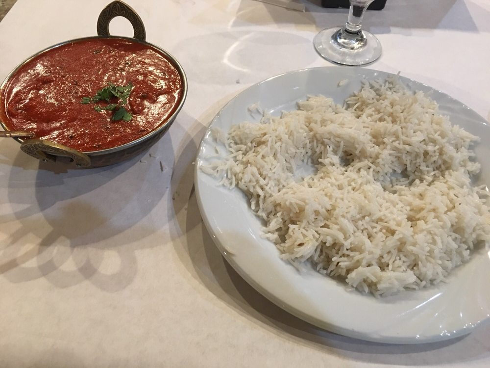 Food from Taj Indian Cuisine