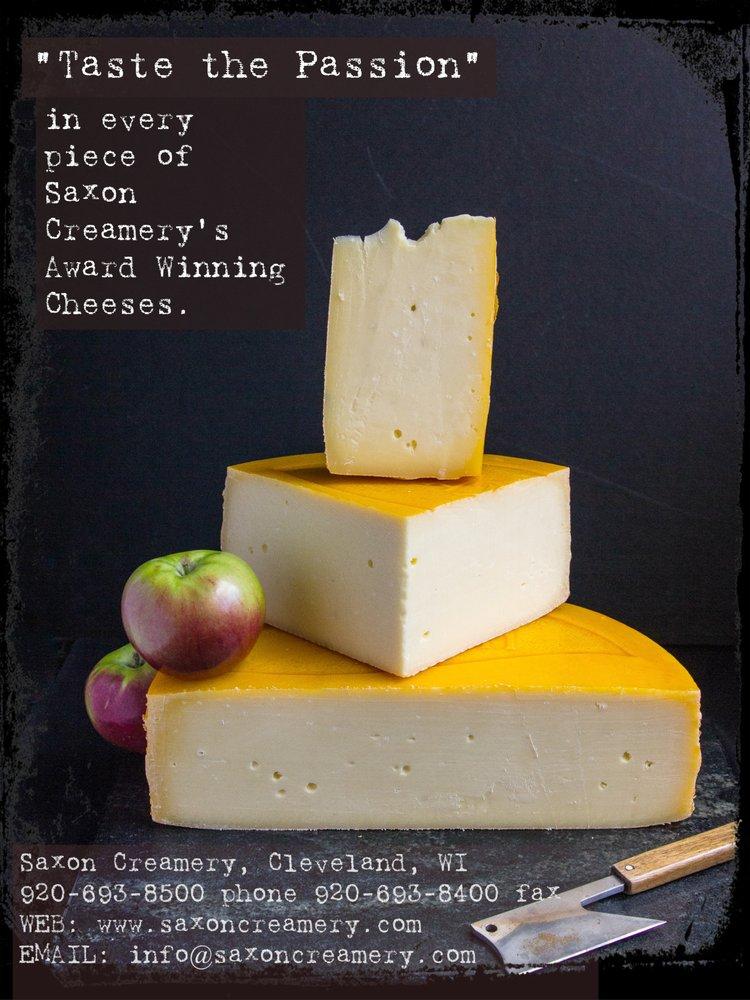 Saxon Creamery: 855 Hickory St, Cleveland, WI