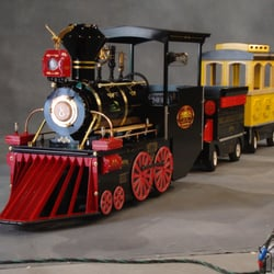 Bellatori Family Train Trackless Train Party Equipment Rentals