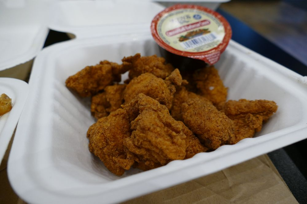 Food from Just Chik'n