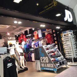 JD Sports Ropa deportiva Manchester Airport Terminal 2