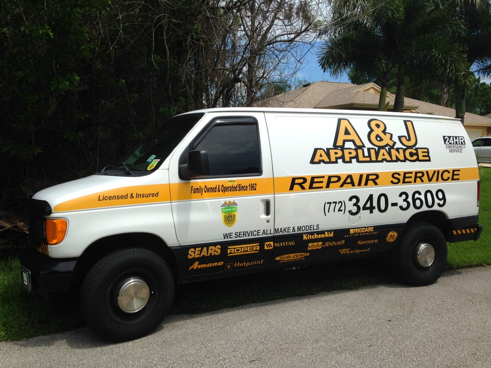 A Amp J Appliance Repair Service Appliances Amp Repair