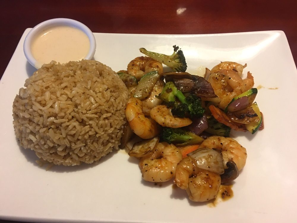 My shrimp hibachi lunch wonderful yelp for Asian fusion cuisine restaurants