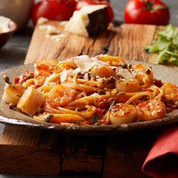 Photo Of Bertucci S Italian Restaurant Westborough Ma United States Scallops Shrimp
