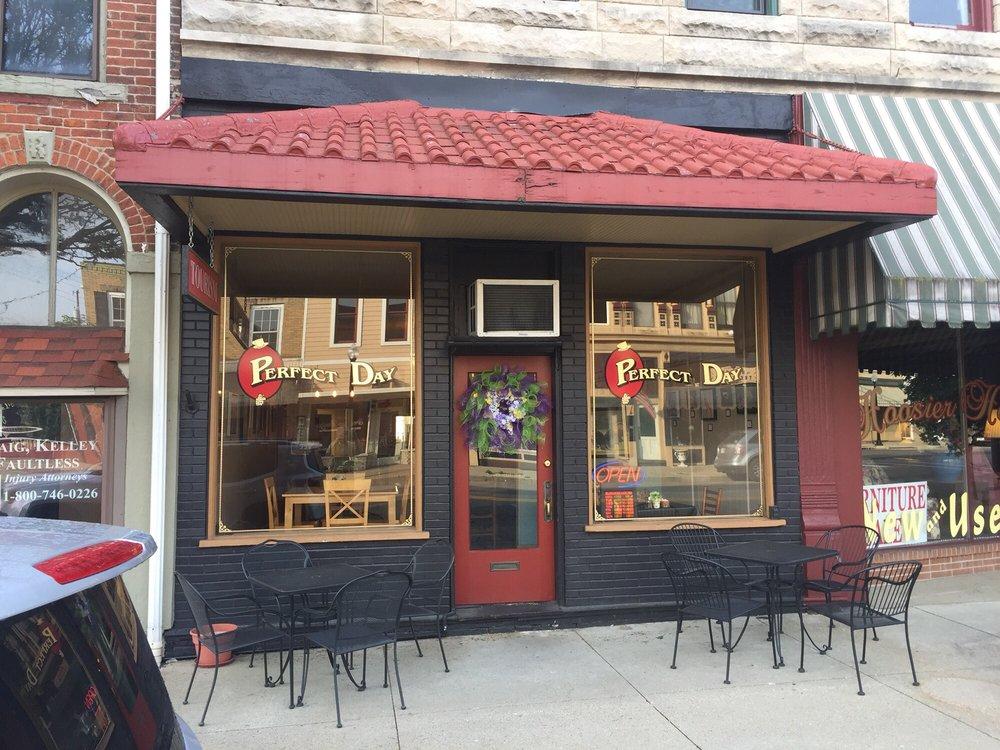 A Perfect Day Cafe: 221 E Walnut St, North Vernon, IN
