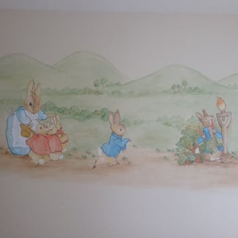 Photo Of ArtComm Murals   Glendale, CA, United States. Peter Rabbit Mural  For Part 65