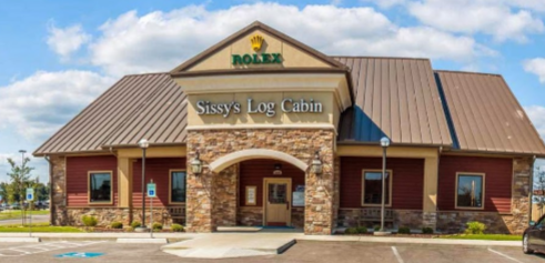 Sissy's Log Cabin: 2900 Parkwood Rd, Jonesboro, AR