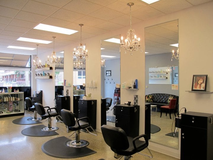 Geneva hair studio 22 reviews hair salons 5541 e for Aaina salon indianapolis