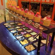 Be Smart And Photo Of Yotality Frozen Yogurt   Rochester, NY, United  States. Toppings Bar.