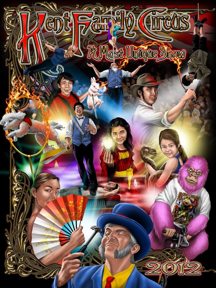Kent Family Magic Circus: 500 Angel Rd, Berea, KY