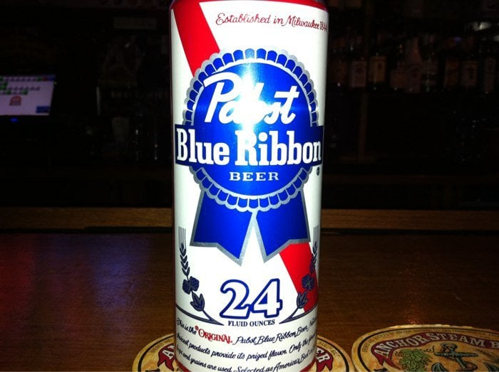 Pbr 24 oz  I'm a size queen what can I say - Justine - Yelp