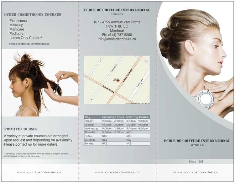 Ecole De Coiffure Internationale - Cosmetology Schools - 4755 Van ...