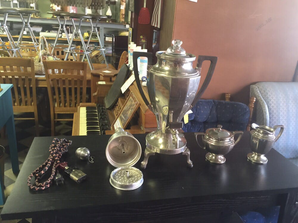 Art deco coffee percolator yelp for Coffee tables york pa