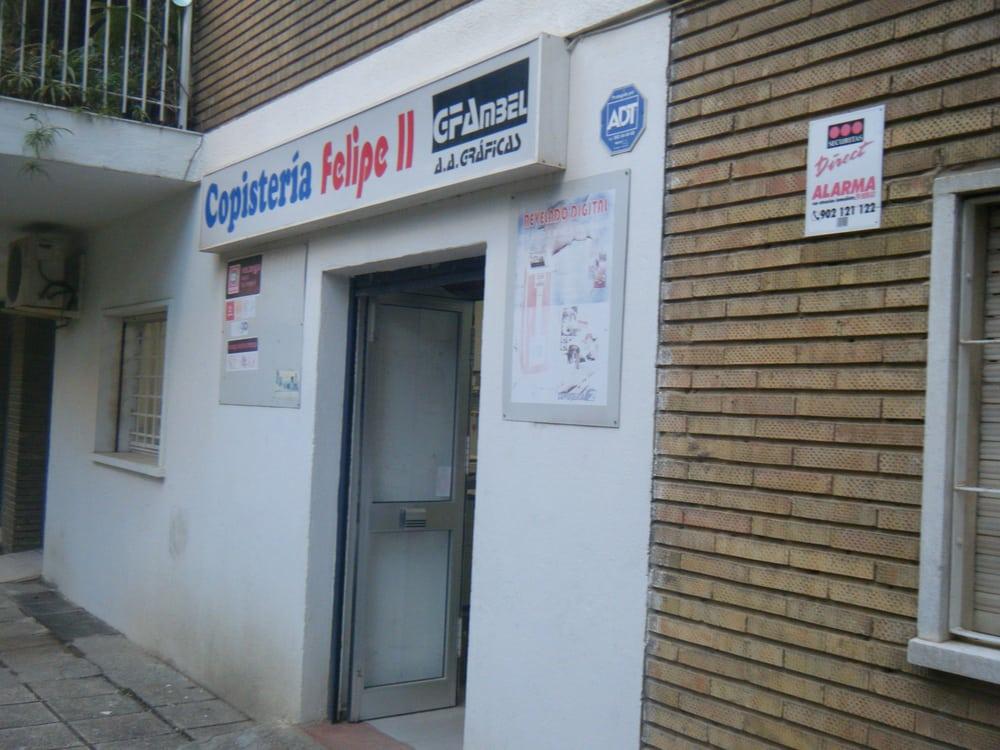 Felipe ii material de oficina calle felipe ii 22 el for Oficinas ups madrid