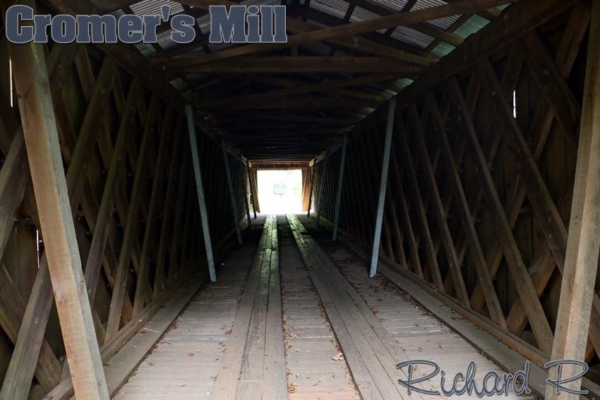 Cromer's Mill Covered Bridge: 22-30 Cromers Bridge Rd, Royston, GA