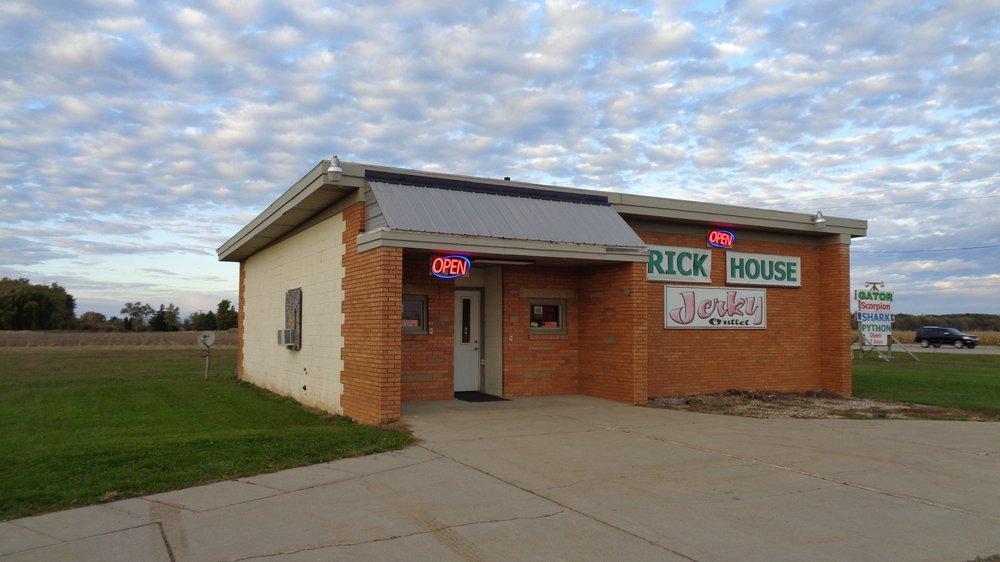 Brick House Jerky Outlet: 1969 E Garfield Rd, Ashley, MI