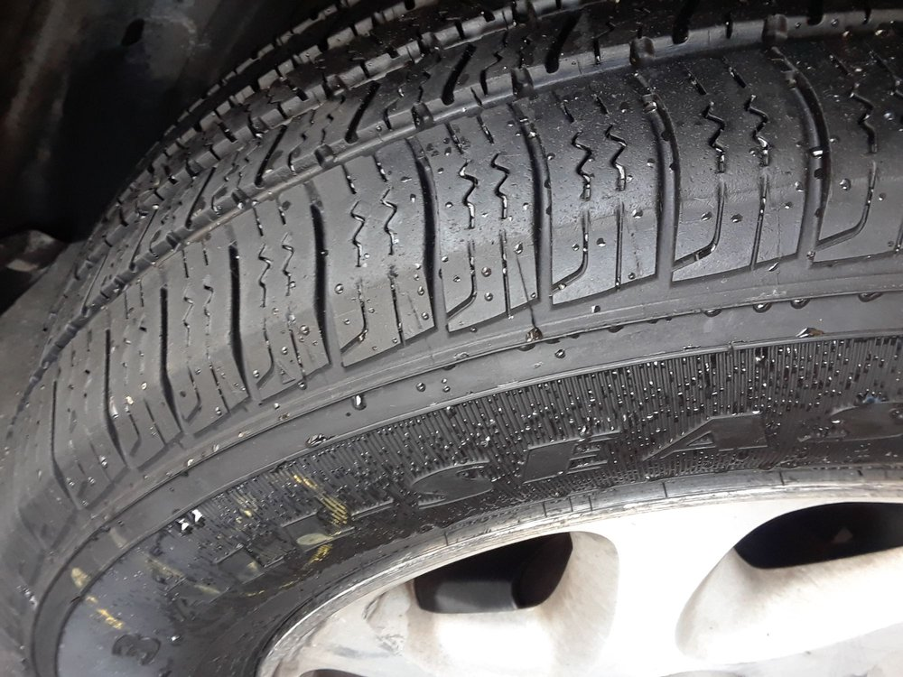 Used Tires San Jose >> Check Out The Tread On This Used Tire Looks Brand New To