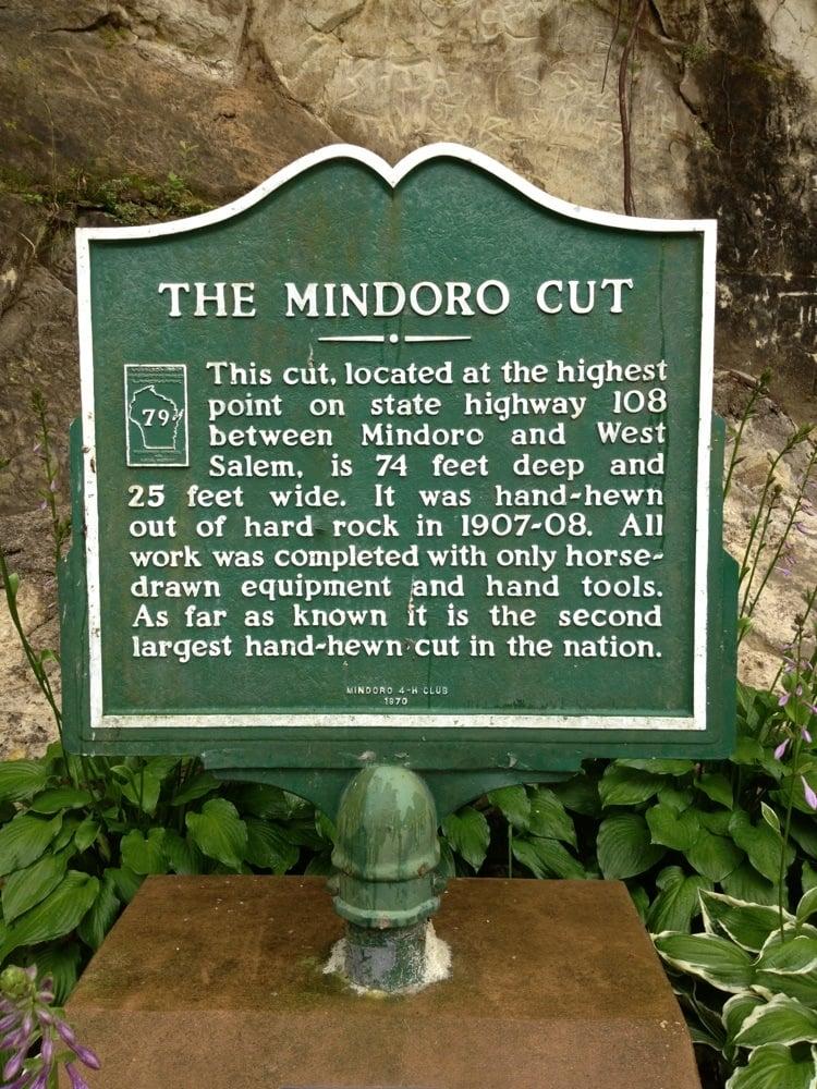 Mindoro Cut: N8296 State Rd, Mindoro, WI