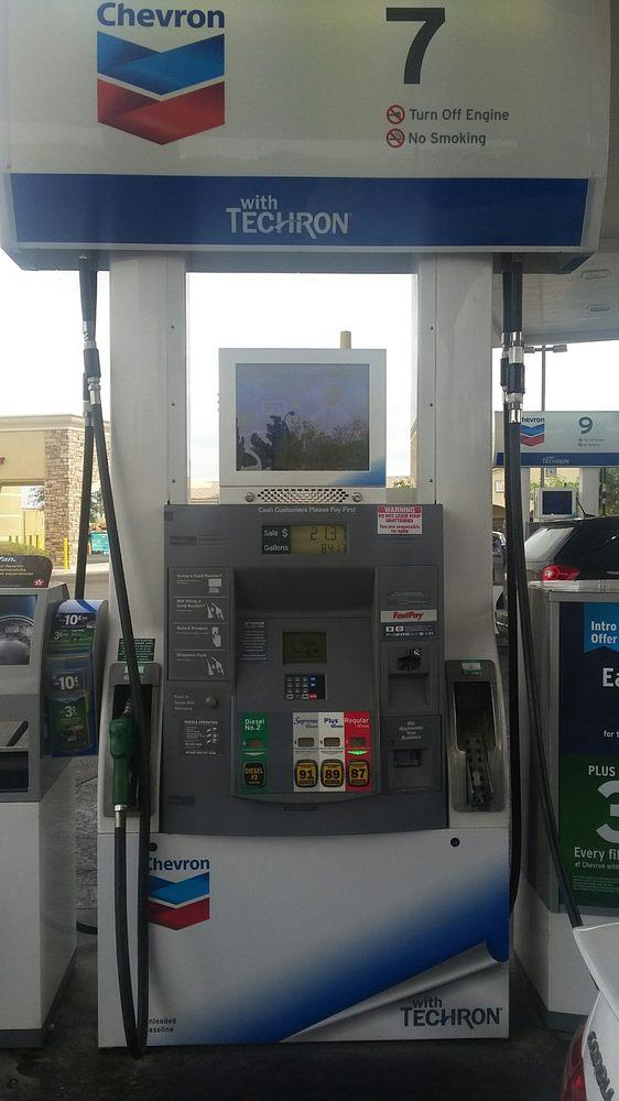 Chevron Gas Station With Car Wash Near Me