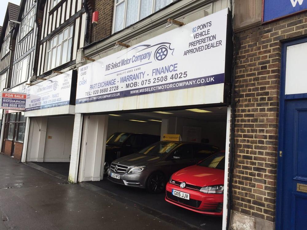 Mb Select Motor Company Car Dealers 29 31 Stafford Road Waddon