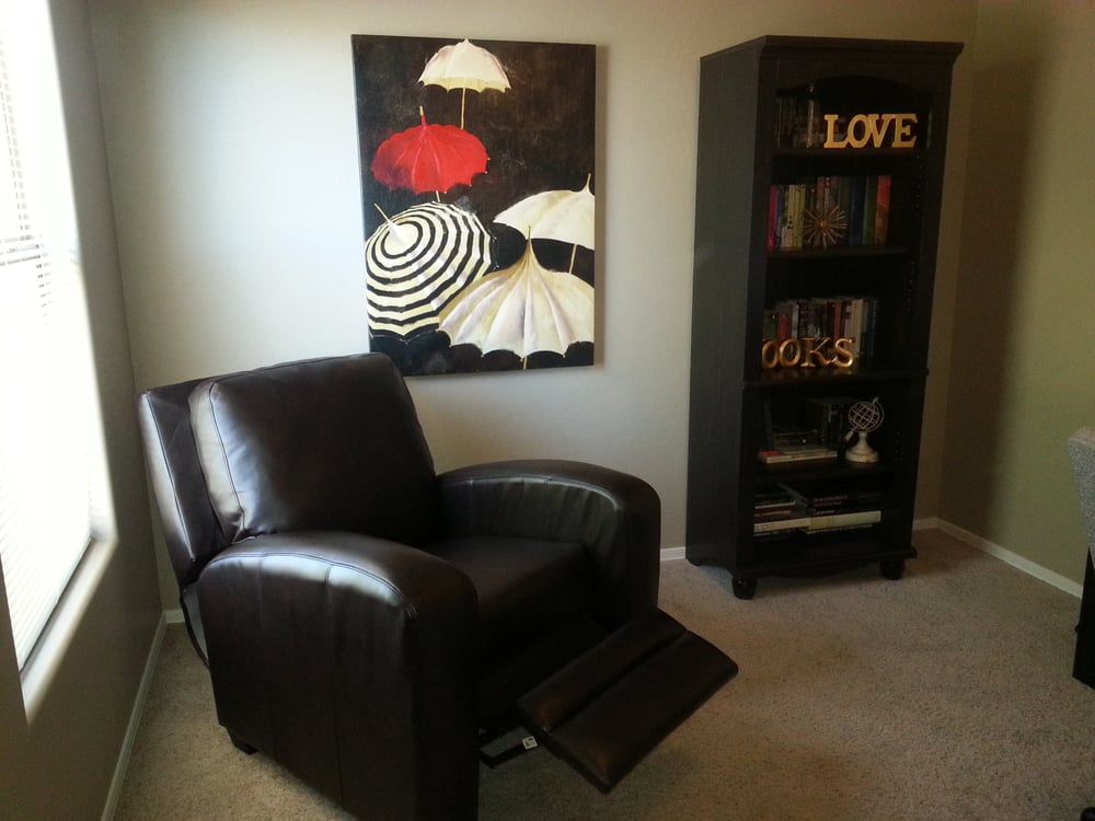 Afw leather recliner and bookcase that chair is soooooooo for All american furniture warehouse