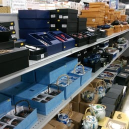 Photo of Shin Shin Enterprises - Lakewood, WA, United States. A whole aisle of tea sets!!