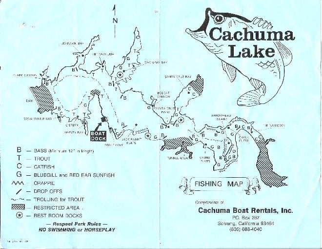 Cachuma lake yelp for Santa barbara fishing report