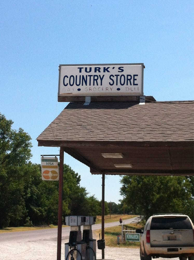 Turk's Country Store: W Of City, Chandler, OK
