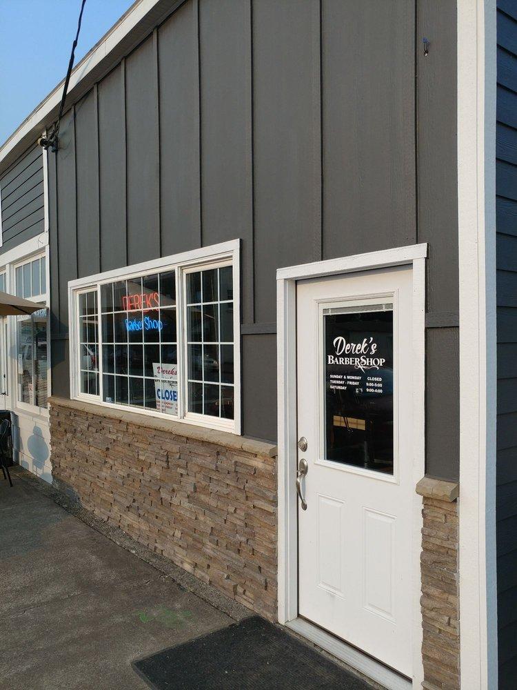 Derek's Barber Shop: 106 S Main St, Jefferson, OR