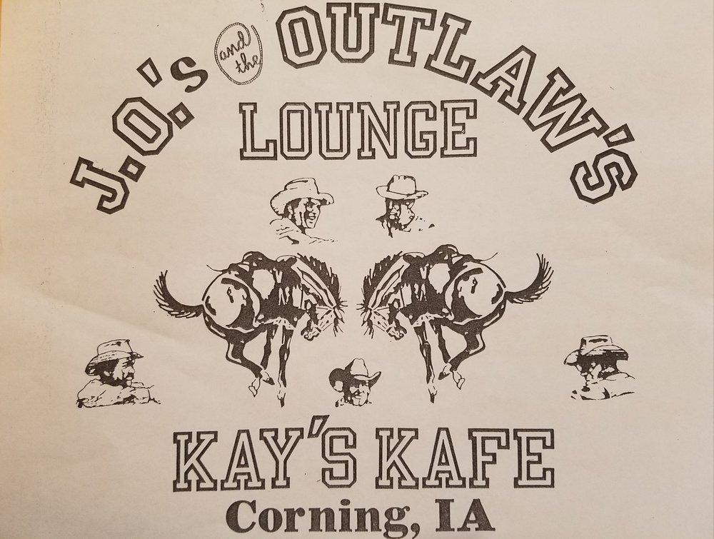 Kay's Kafe: 608 Davis Ave, Corning, IA
