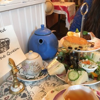 Tea Room In Burlingame Ca